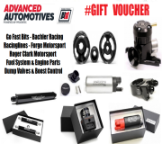 Advanced Automotive Gift Vouchers | £10 To £500 Spend